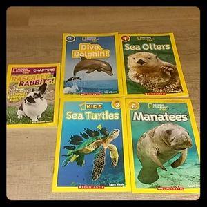 National geographic kids book bundle